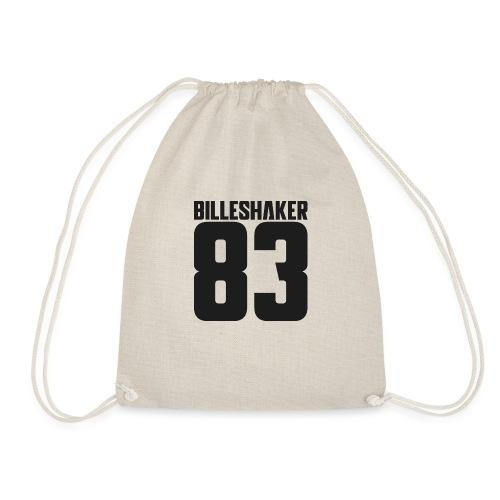 Billeshaker 83 Dark Grey - Drawstring Bag