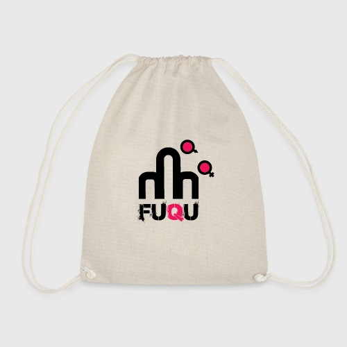 T-shirt FUQU logo colore nero - Sacca sportiva