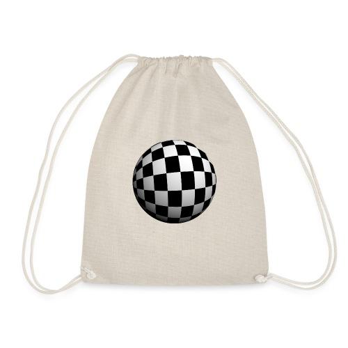 bola 3d - Drawstring Bag