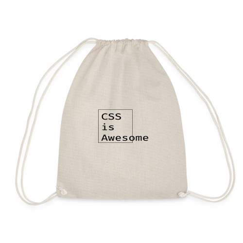 cssawesome - black - Gymtas