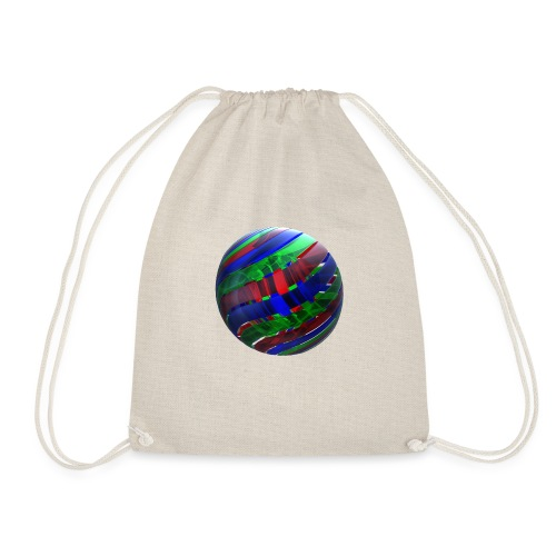 RGB Nested Ribbon Spheres - Drawstring Bag