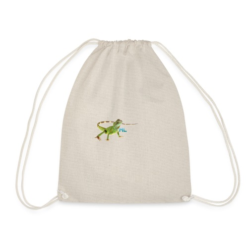 Lizard T-shirt - Drawstring Bag