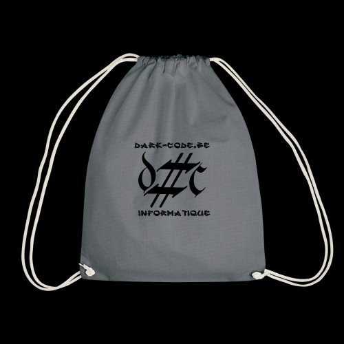 Dark-Code Black Gothic Logo - Sac de sport léger