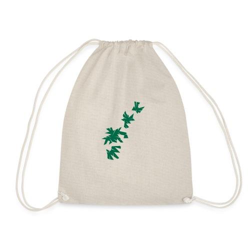 Green Leaves - Turnbeutel
