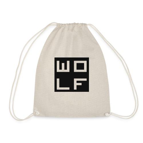 Light Grey T - Shirt Medium - Drawstring Bag