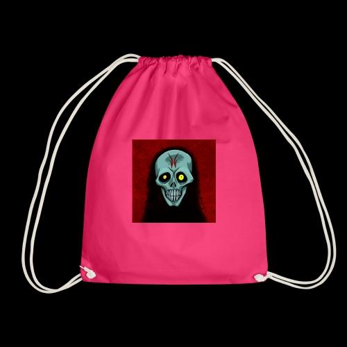 Ghost skull - Drawstring Bag