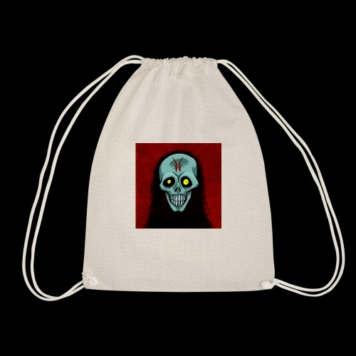 Ghost skull - Drawstring Bag