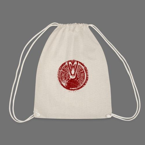 Maschinentelegraph (red oldstyle) - Drawstring Bag