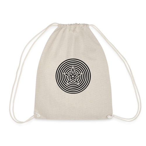 Star Circles - Drawstring Bag