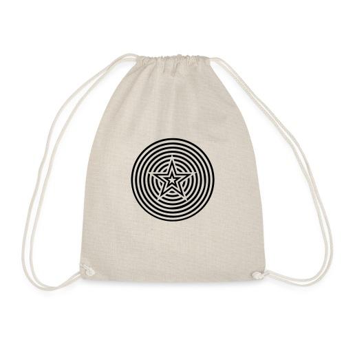 Star Circles - Drawstring Bag