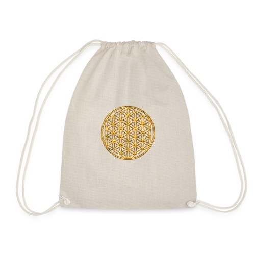 Flower of life GOLD 2 - Gymtas