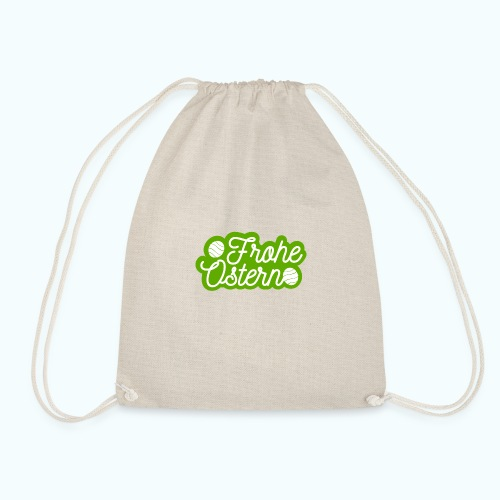 Frohe Ostern - Drawstring Bag