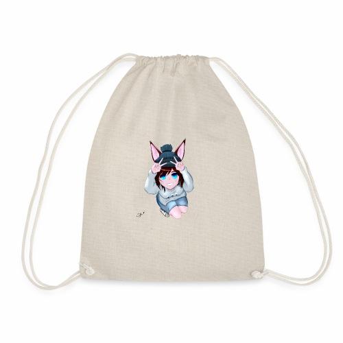 OOSnowwolfOO white - Drawstring Bag