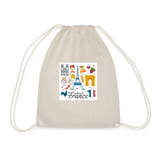 collection femme welcome to france - Sac de sport léger