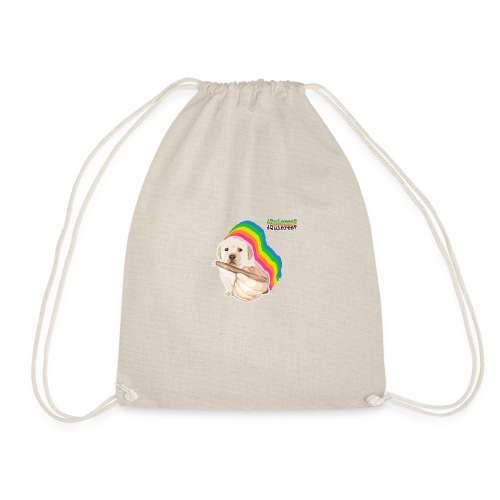 ¿Quieres? Puppy Meme - Drawstring Bag