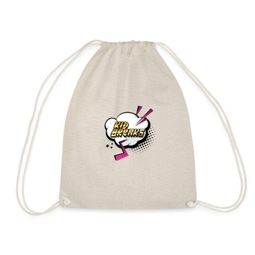 Kid Breaks Flash Art Logo - Drawstring Bag