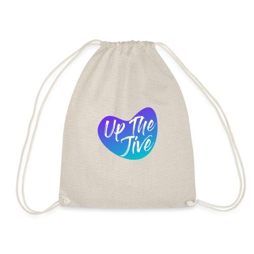 Up The Jive Heart - Drawstring Bag