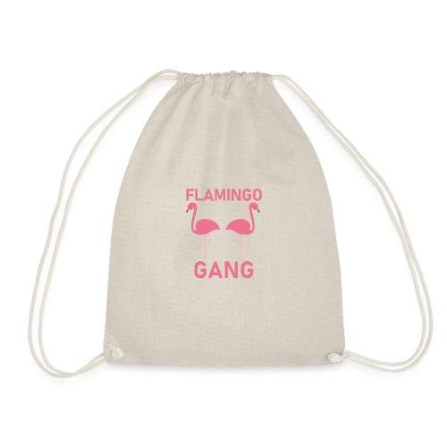 Flamingo Gang T-Shirt - Turnbeutel