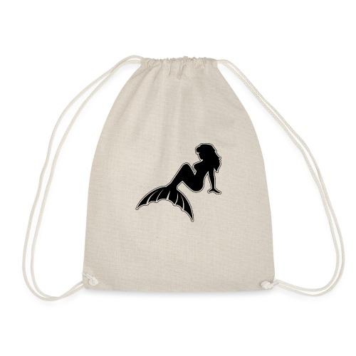 Classic Mermaid NoCircle - Drawstring Bag