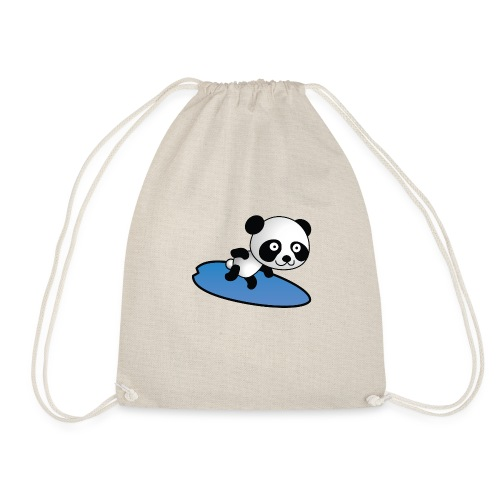 Surfing Panda - Turnbeutel