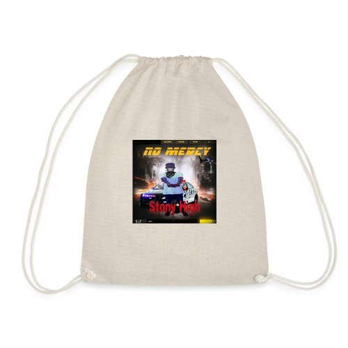 No Mercy Tshirts Stony vybz - Gambia Music Merch - Drawstring Bag