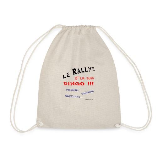Rallye j'en suis dingo couleur - Sac de sport léger
