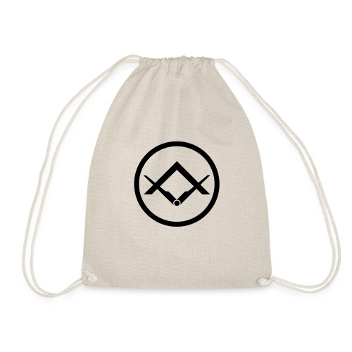 Square and Compass (Swedish Rite) - Drawstring Bag