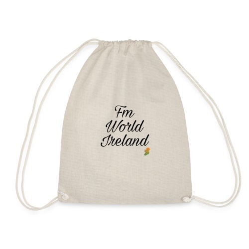 FM WORLD IRELAND - Drawstring Bag
