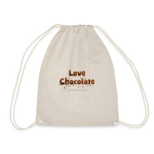 Love Chocolate - Drawstring Bag