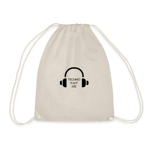 TECHNO IS MY LIFE - Sac de sport léger