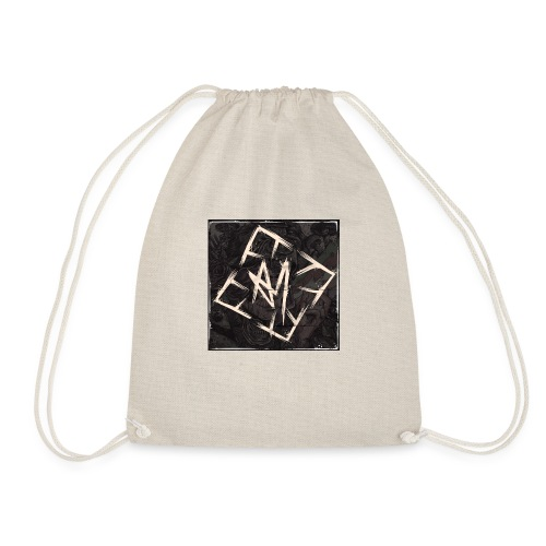 Across Yourself - Logo with background - Drawstring Bag