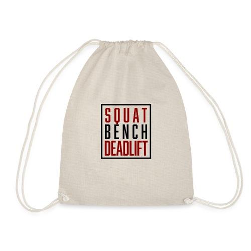 Squat Bench Deadlift - Turnbeutel