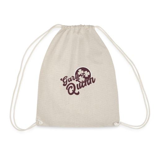 GQ logo 3 sham red cirlce - Drawstring Bag