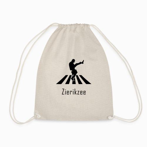 Silly walk zebrapad verkeersbord Zierikzee Zeeland - Gymtas