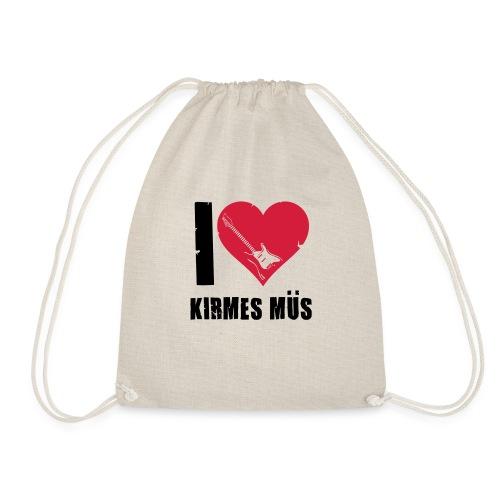 I Love Kirmes Müs - Turnbeutel