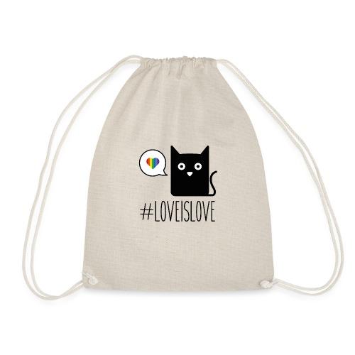 Love is love - Sacca sportiva