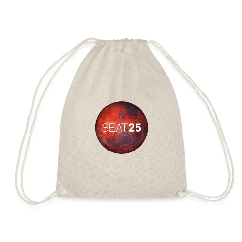 Mars and Logo - Drawstring Bag