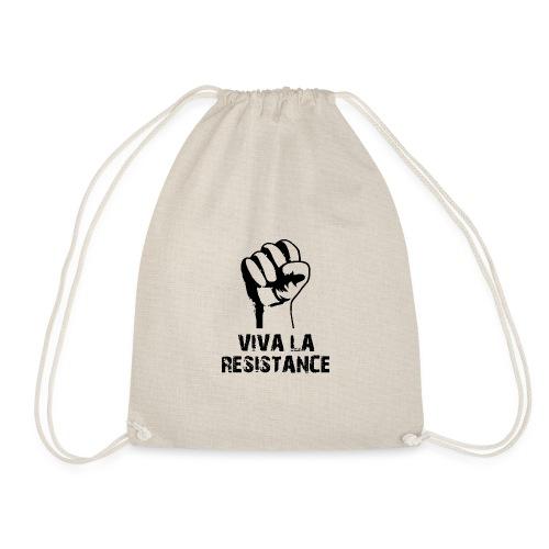 Vive La Resistance Logo - Drawstring Bag