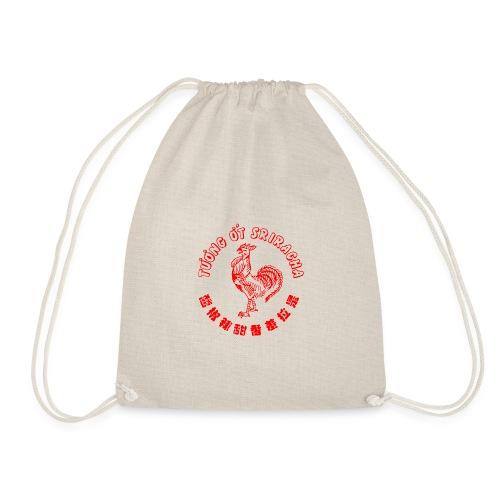 sriracha sauce merch - Drawstring Bag