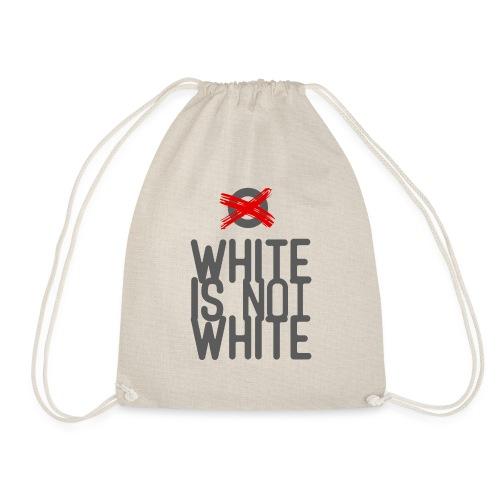 white not - Worek gimnastyczny