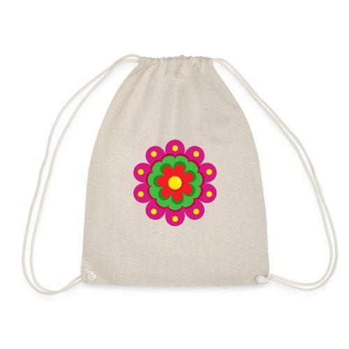 Fiesta Flower - Mochila saco