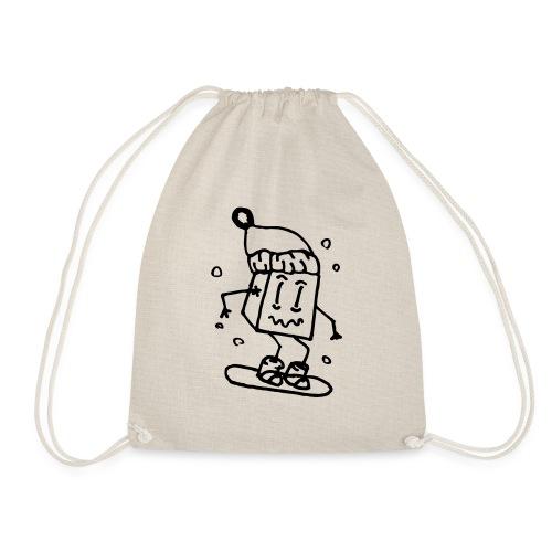 snowboarding - Drawstring Bag