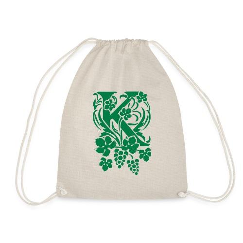 Karneid Monogram - Drawstring Bag