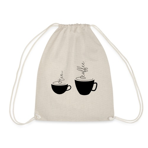 0253 Coffee Mug | Teacup | Coffee | tea - Drawstring Bag
