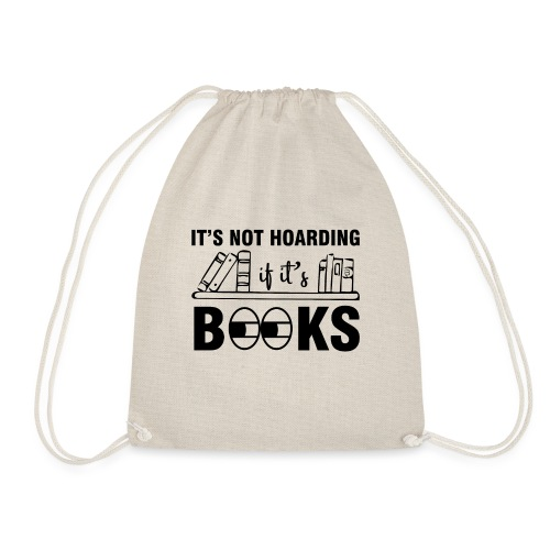 0269 Collect | Hoarding | Books | reader - Drawstring Bag