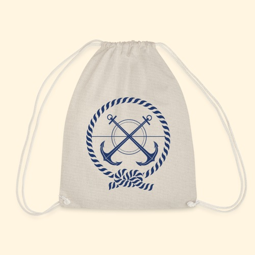 Ancoras - Drawstring Bag