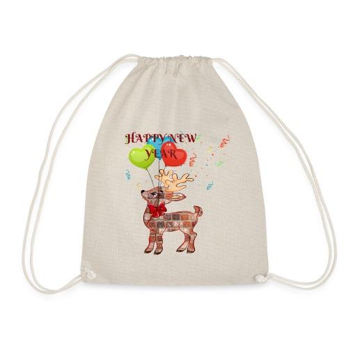 Rudolph Santa HAPPY NEW YEAR 2019 - ZERO - Sac de sport léger
