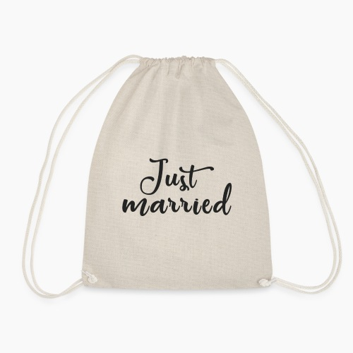Just married - Drawstring Bag