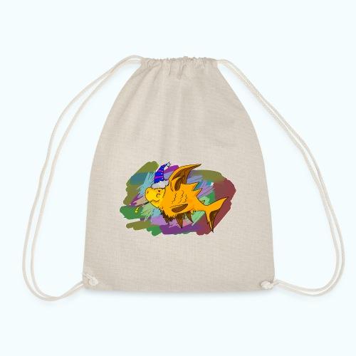 80s comic - Drawstring Bag