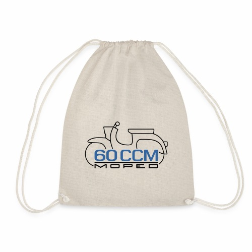 Moped Schwalbe 60 ccm Emblem - Drawstring Bag